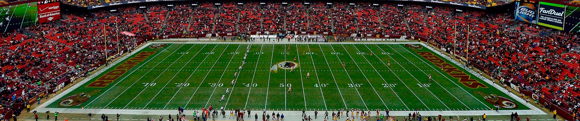 Washington Redskins Travel and Vacation Packages